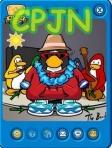 Pinguim com itens do TBS4